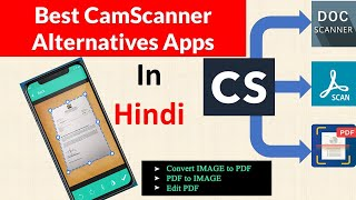 Best Camscanner Alternatives For Android - Best Document Scanner and PDF Creator app