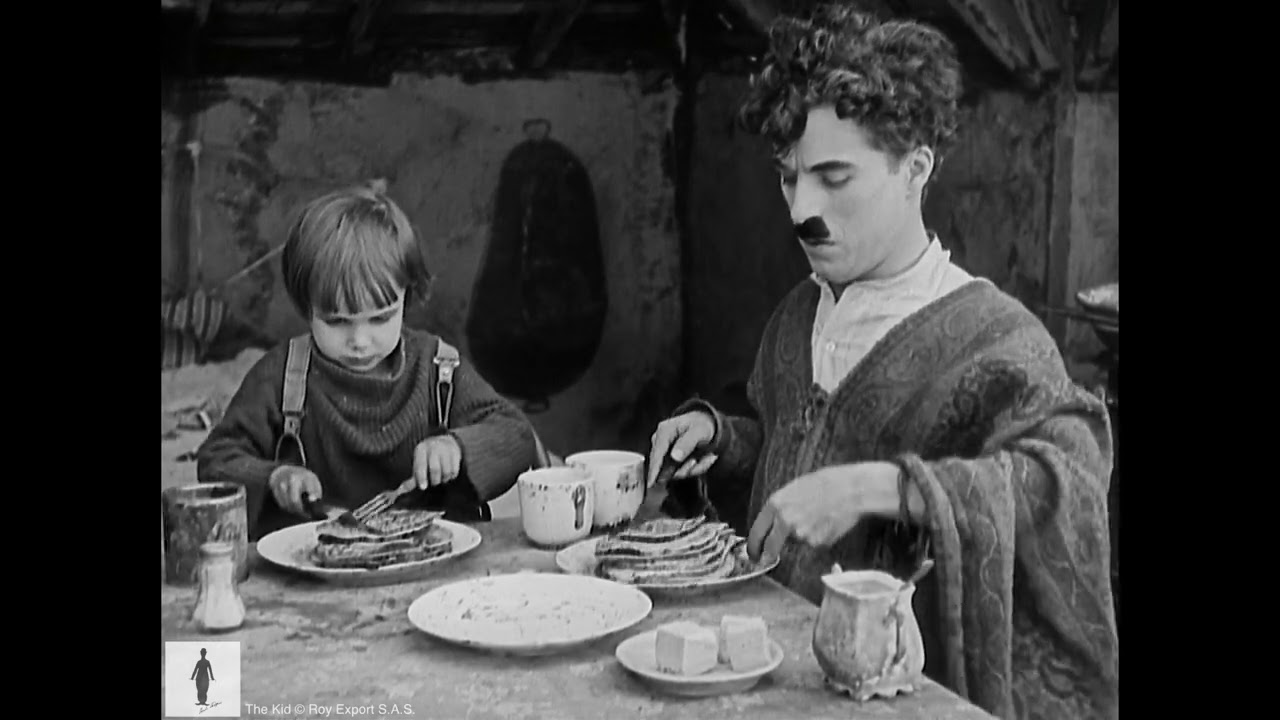 Charlie Chaplin - The Kid - Pancake Scene