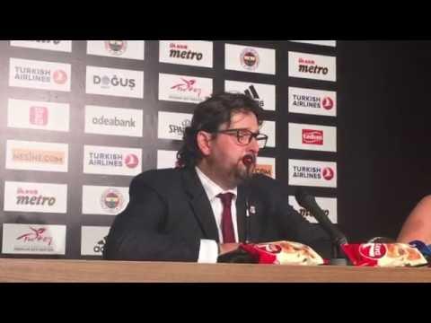 Pressekonferenz | Fenerbahce Istanbul vs. Brose Bamberg
