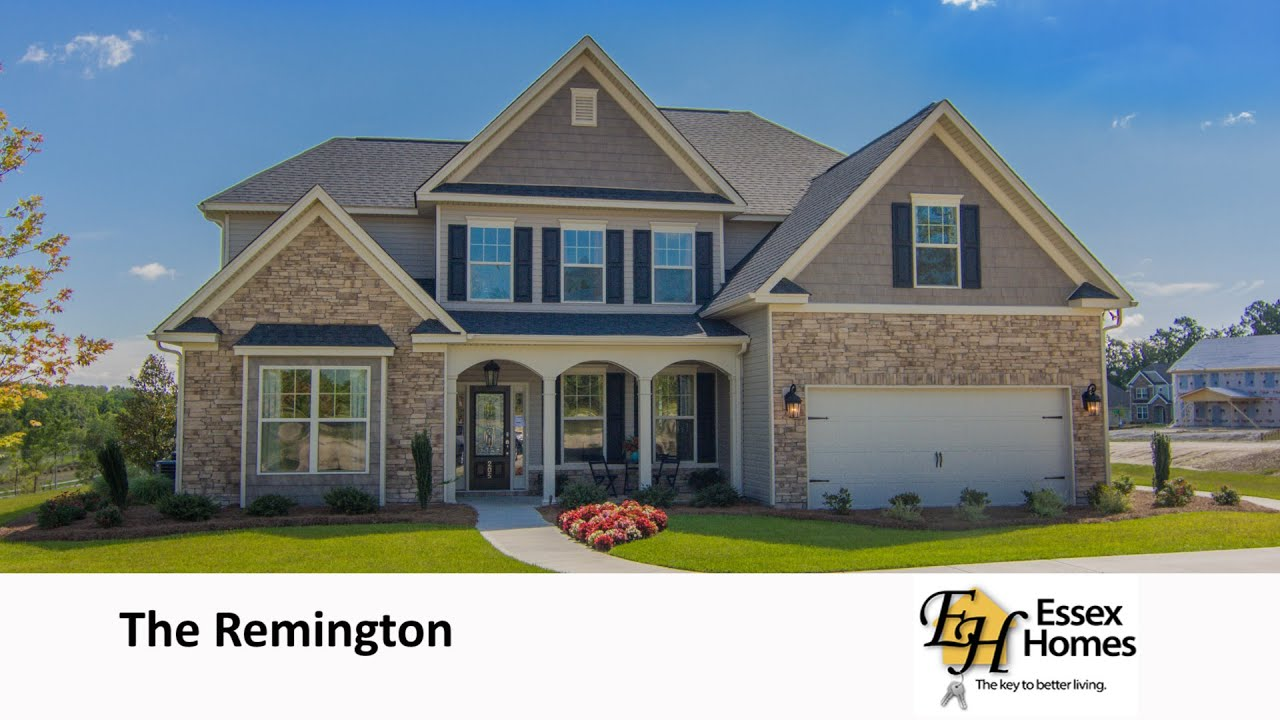 The Remington by Essex Homes YouTube – Essex Homes Floor Plans