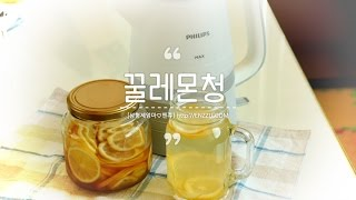 lemonsyrup Lemontea 레몬청만들기, 필립…