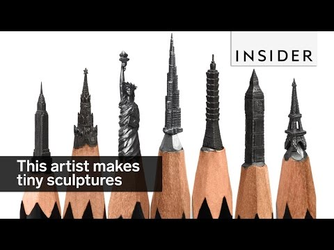 A 42-Year-Old Artist Has Made A Career Out Of Tiny Sculptures