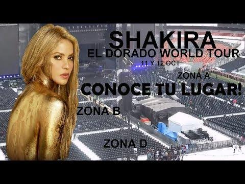 "Asi se vera tu lugar ""El Dorado World Tour"" +Mapa Interactivo"