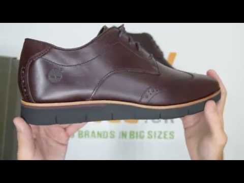 Timberland Preston Hills Brogue Oxford - Port - Walktall | Unboxing | Hands on