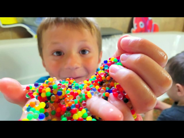 Chase's Corner: ORBEEZ BATH SURPRISE! CAPTAIN UNDERPANTS RING 😅HYPNOTIZED MOMMY  (#51|DOH MUCH FUN)