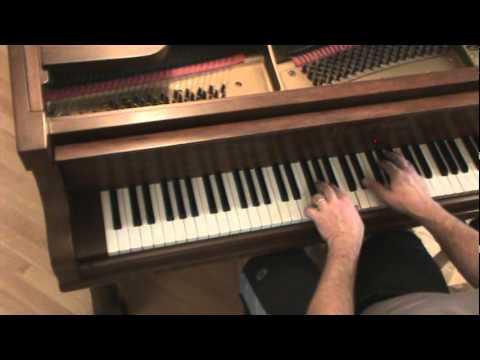 The Fray - Vienna piano tutorial