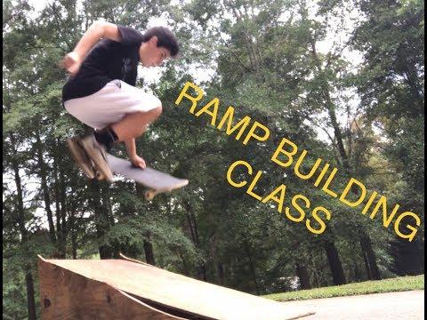 Building A DIY Skateboard Ramp   Life Of Vek Ep. 10