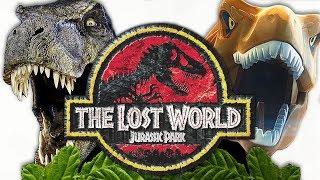 Лего мультик про динозавров против кино | Парк юрского периода 2 | Lego vs Movie | Лего динозавры