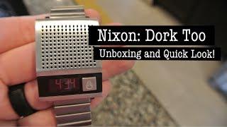 Nixon Dork Too Watch Unboxing and Look Around!