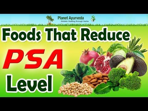 Foods That Reduce PSA Level
