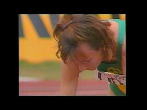 1990 Commonwealth Games Womens 200m Round 1 Heat 2 New Zealand