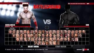 WWE 2k15 superstar diva arena match
