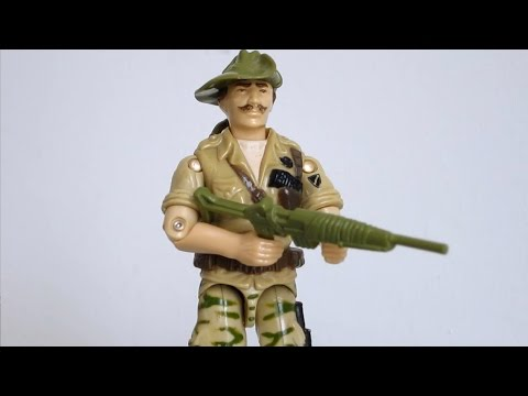 1984 Recondo (Jungle Trooper) G.I. Joe review