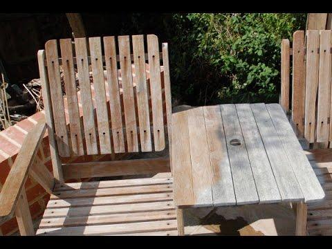 Restoring Garden Furniture with NetTrol - DrCleanUK