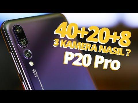Huawei P20 Pro İnceleme - Galaxy S9+ ve iPhone 8 Plus ile karşılaştırdık!