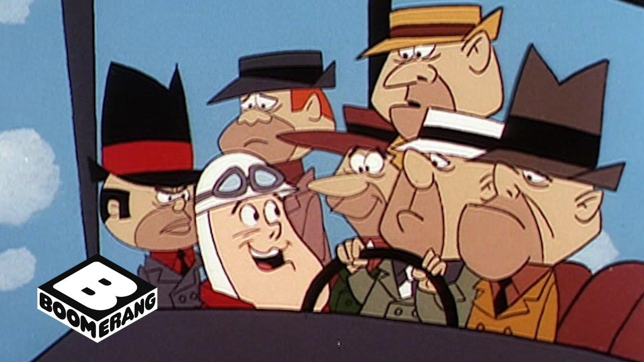 wacky races highway patrol boomerang youtube