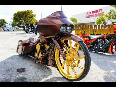 Candy Brown Bagger on Big wheels in HD (must see)