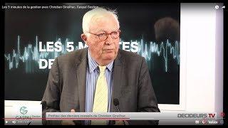 Les 5 minutes de la gestion avec Christian Ginolhac, Gaspal Gestion
