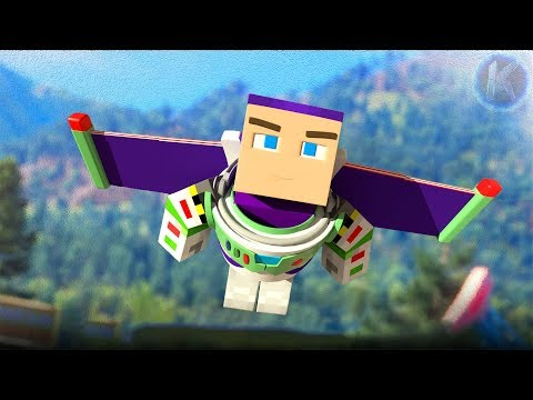 Toy Story 4 Trailer 2 Minecraft Animation