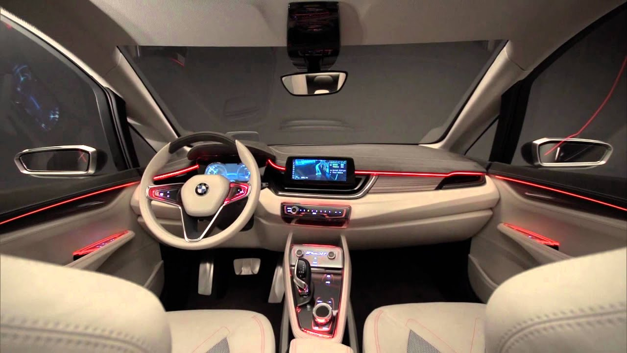 Bmw Concept Active Tourer Vue Interieur Tontongreg Fr Youtube