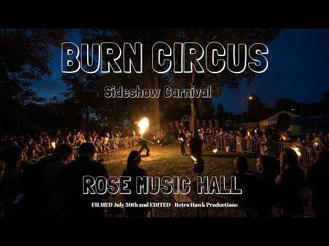 Burn Circus - Sideshow Carnival III 2017