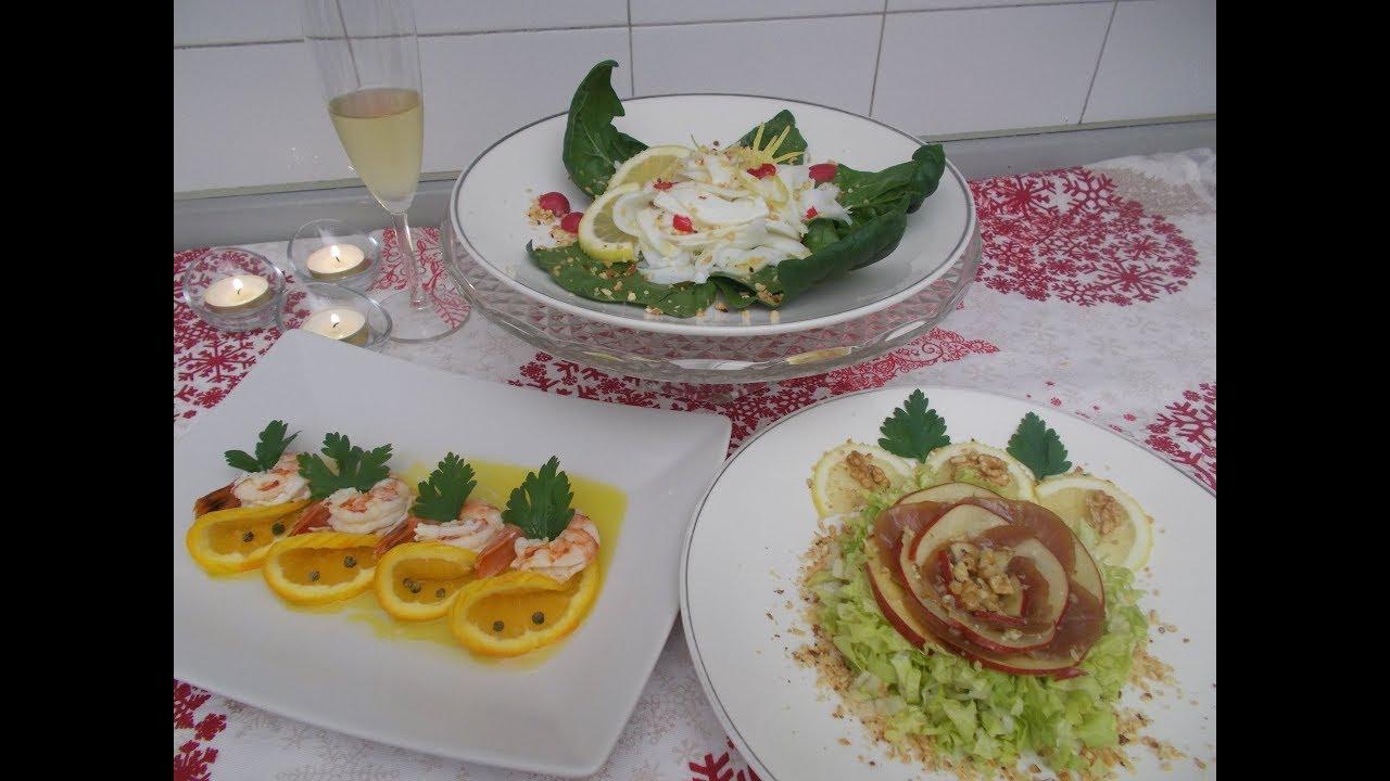 idee aperitivo o antipasto - 3 ricette per capodanno - Le ricette di zia Franca