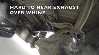 2015 Toyota Tundra SR5 Crewmax Gear Whine at Rear Axle