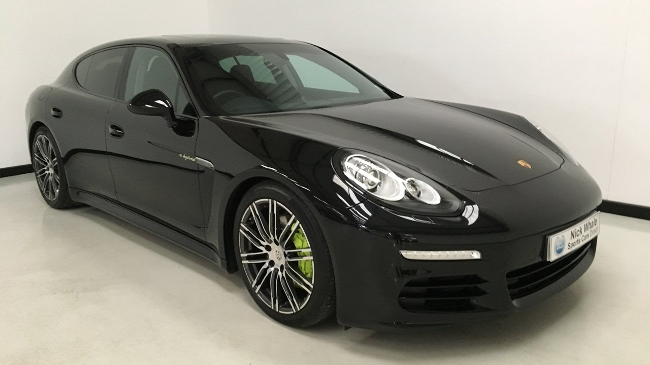For Sale Porsche Panamera S E Hybrid 2015 Black
