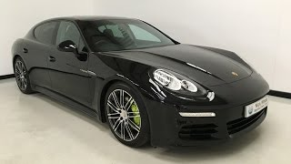 For sale - Porsche Panamera S E-Hybrid - 2015 - Black - Sunroof - Nick Whale Sports Cars