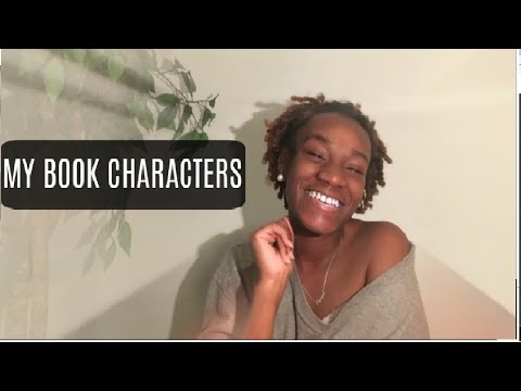 SHARING MY CHARACTERS FROM MY BOOKS