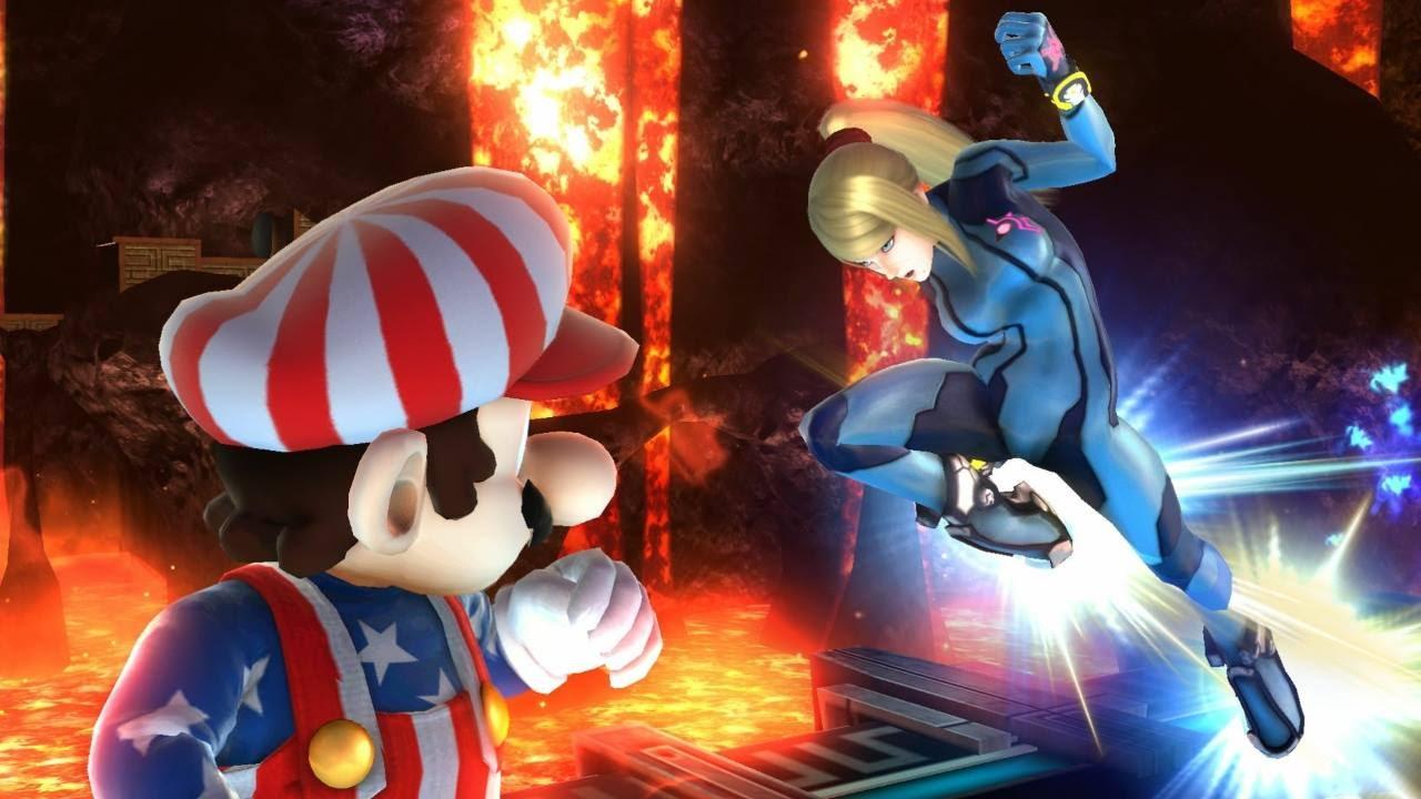 Samus vs The Mario Bros Part 2 by Artistic-Allen on DeviantArt  |Zero Suit Mario