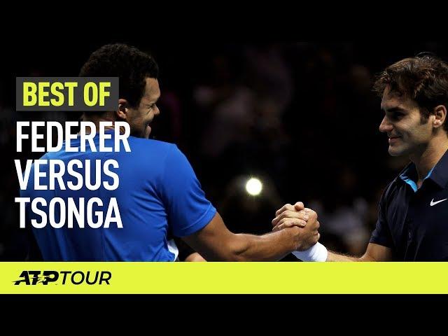 Federer & Tsonga | THE BEST OF | ATP