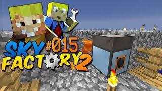 Die erste Energie! Solarpanel! - Minecraft Sky Factory 2 Folge #15