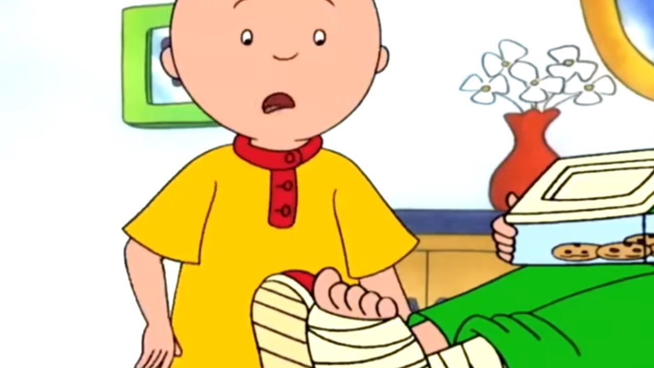 Caillou and the Emergency | Caillou | Cartoons for Kids | WildBrain Kids