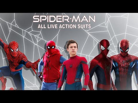 All live action Spider-Man Suits...