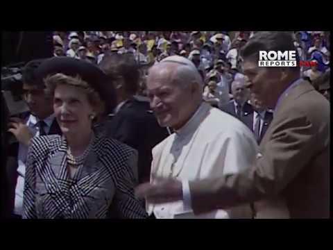 Vaticano proyecta nuevo documental sobre Juan Pablo II y Ronald Reagan