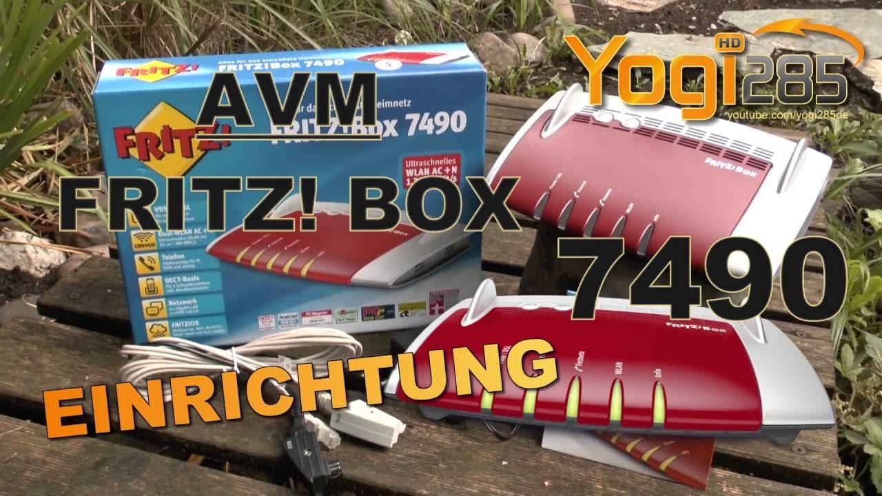 AVM FRITZ Box 20 Verkabelung & Einrichtung am IP Anschluss mit VDSL