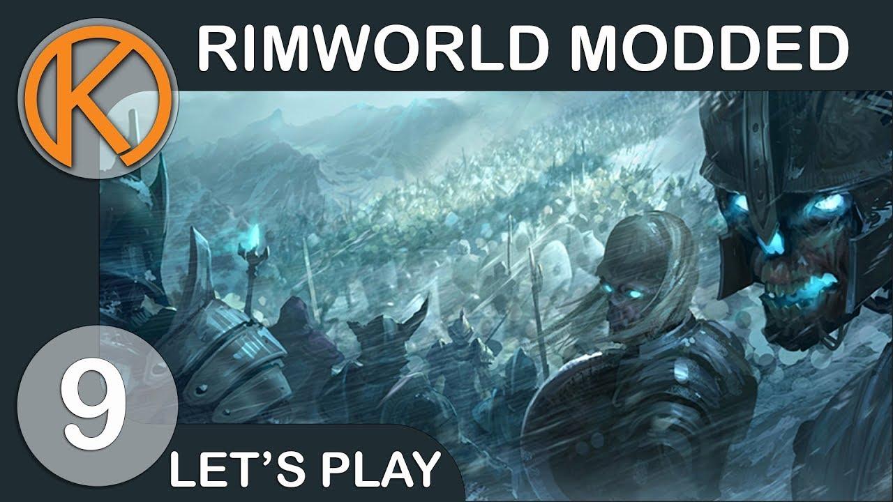 RimWorld 1 0 Modded   EATEN ALIVE - Ep  9   Let's Play RimWorld Gameplay