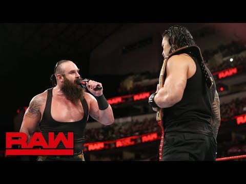 Roman Reigns and Braun Strowman call out Brock Lesnar: Raw, Sept. 17, 2018
