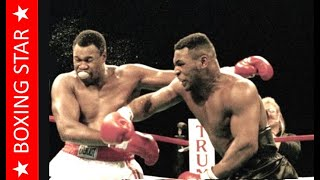 Месть за АЛИ!🔥 Майк Тайсон - Ларри Холмс ● ТОП МОМЕНТЫ!🔥 Mike TYSON vs Larry HOLMES ● HIGHLIGHTS!🔥