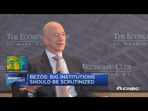 Jeff Bezos: Never spend time on daily stock price