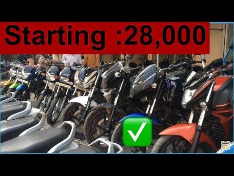 Cheap Price Second Hand Bikes In Delhi - Subhash Nagar ,yamaha fz,rs 200, pulsar ,royal enfield