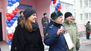 видео: В Чите военные получили ключи от новых квартир