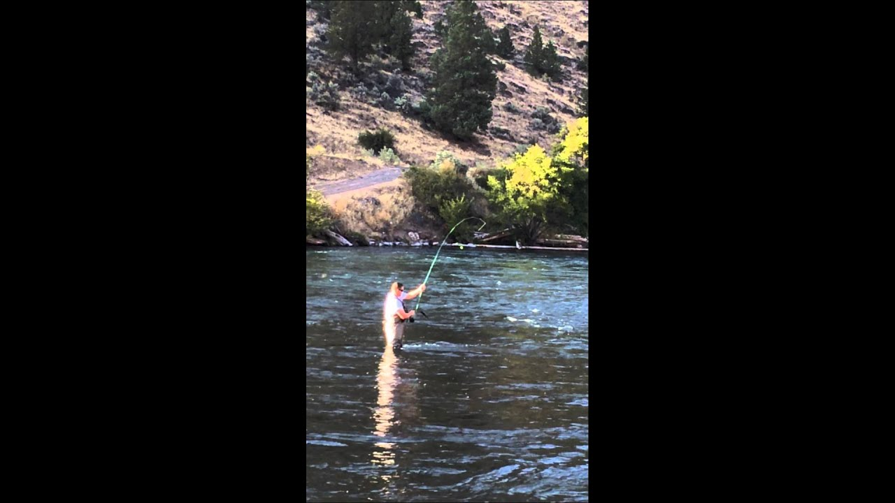 Deschutes River trout fishing