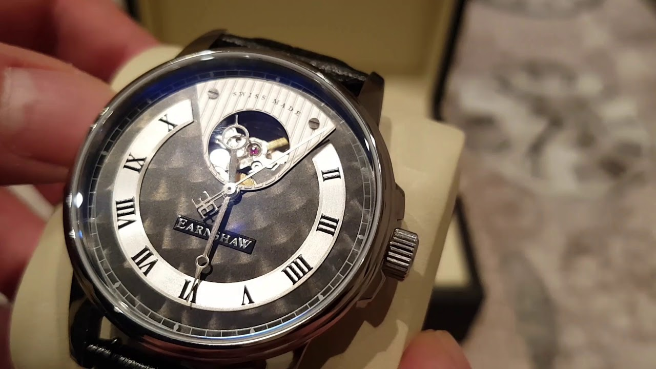 Earnshaw Beagle Automatic Open Heart Swiss Made Es 0035 01 New Release Review Youtube