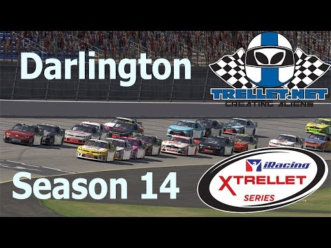Trellet.net iRacing S14 Xtrellet Series Race 2 Darlington Raceway