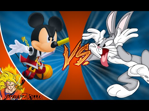 MICKEY MOUSE vs BUGS BUNNY! Cartoon Fight Club Episode 87 REACTION!!!