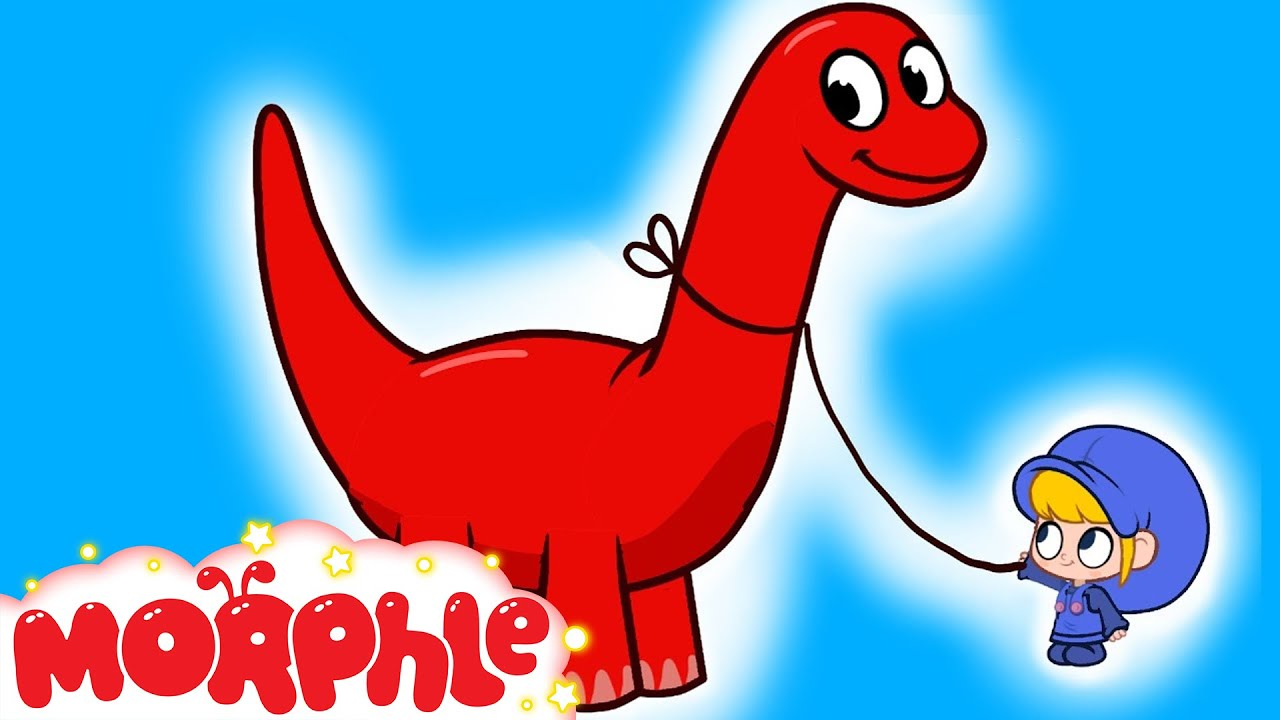 My Pet Dinosaur - My Magic Pet Morphle Episode #2