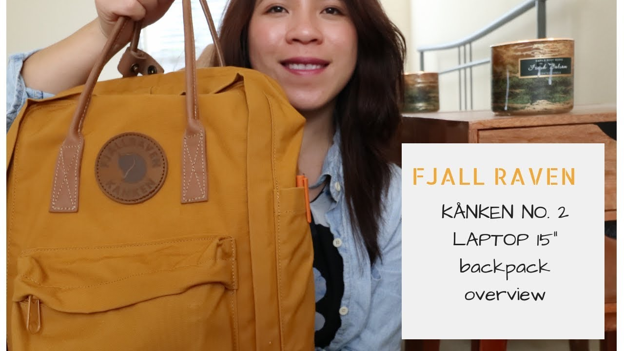 Fjallraven Kanken No 2 Laptop 15