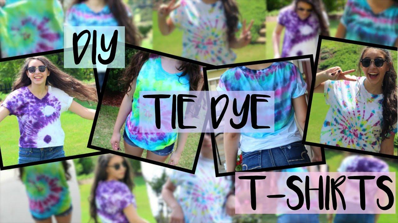 Design your t-shirt egypt - Diy Tie Dye Shirts 4 Easy Fun Designs For Summer